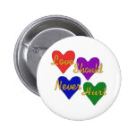 Domestic Violence Awareness 2 Inch Round Button