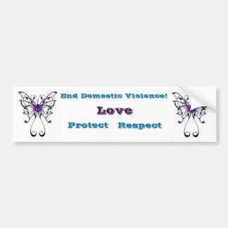 Domestic Violence Awareness Bumper Sticker