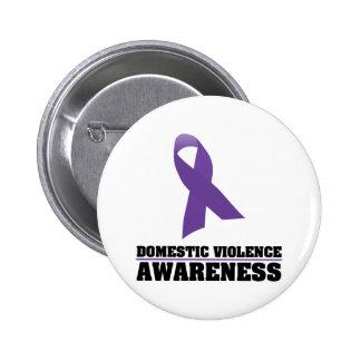 Domestic Violence Awareness Pinback Buttons