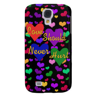 Domestic Violence Awareness Samsung Galaxy S4 Case