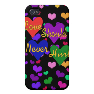 Domestic Violence Awareness Cover For iPhone 4