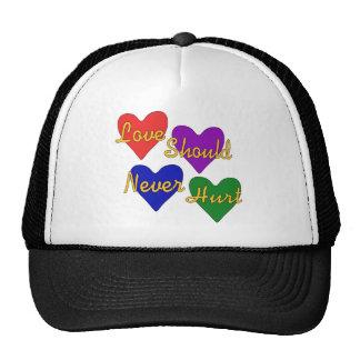 Domestic Violence Awareness Hats