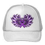 Domestic Violence Awareness Heart Wings Trucker Hat
