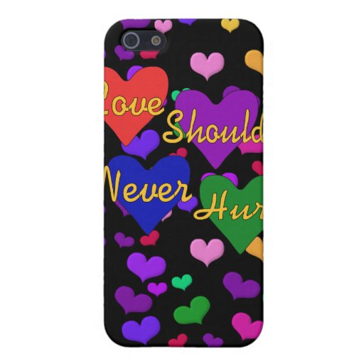 Domestic Violence Awareness iPhone 5 Covers