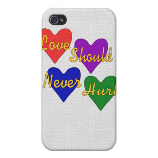 Domestic Violence Awareness Case For iPhone 4