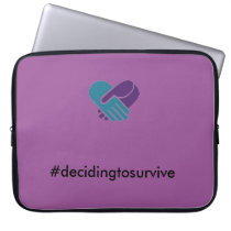 Domestic Violence Awareness Laptop Case