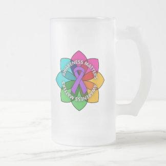 Domestic Violence Awareness Matters Petals Coffee Mug