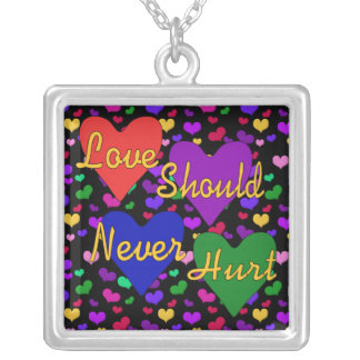 Domestic Violence Awareness Necklaces