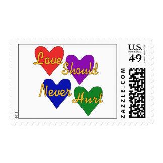 Domestic Violence Awareness Postage Stamps