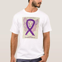 Domestic Violence Awareness Ribbon Angel T-Shirt
