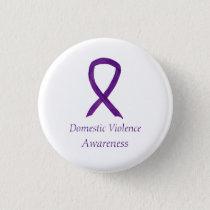 Domestic Violence Awareness Ribbon Custom Pin