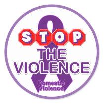 Domestic Violence Awareness Sticker