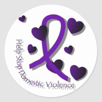 Domestic Violence Awareness Stickers