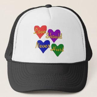 Domestic Violence Awareness Trucker Hat