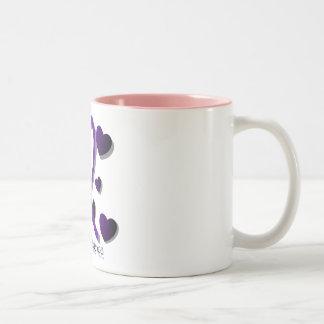 Domestic Violence Awareness Two-Tone Coffee Mug