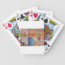 Domestic Violence Bicycle Playing Cards