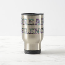 Domestic Violence Break the Silence Travel Mug