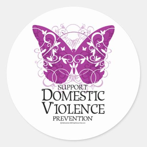 Domestic Violence Butterfly Sticker