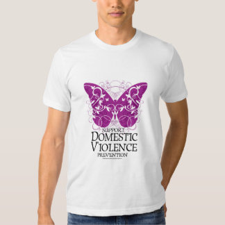 Domestic Violence Butterfly T Shirts