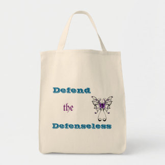 Domestic Violence Grocery Tote