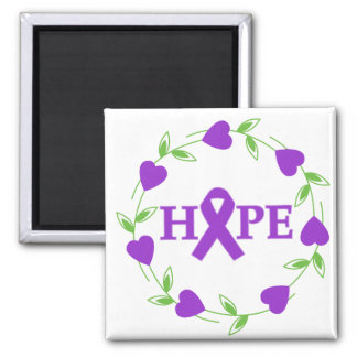 Domestic Violence Hearts of Hope Magnet