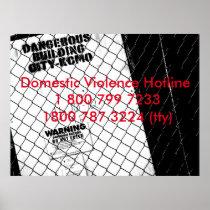 Domestic Violence Hotline Poster