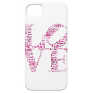 Domestic Violence iPhone Case