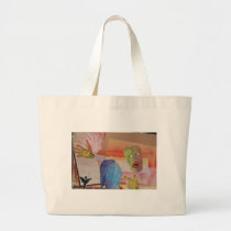 Domestic Violence Large Tote Bag