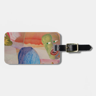 Domestic Violence Luggage Tag