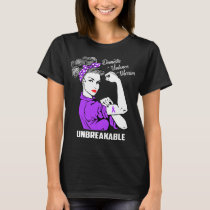 Domestic Violence Warrior Unbreakable T-Shirt