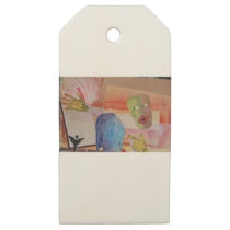 Domestic Violence Wooden Gift Tags