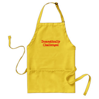 Domestically Challenged Adult Apron