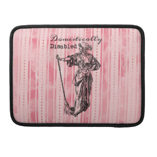 Domestically Disabled MacBook Pro Sleeves