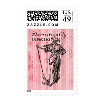 Domestically Disabled Stamps