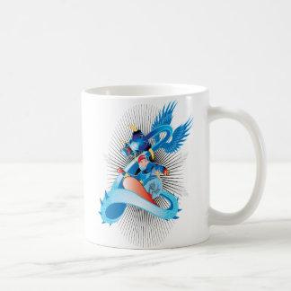Domestique el dragón del hielo taza