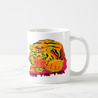 Domestique el tigre taza de café