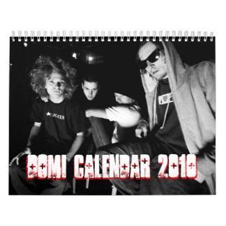 dOMi Calendar 2010