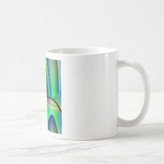 Domicilio extranjero taza básica blanca