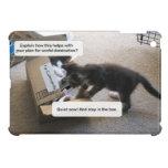 Dominación del mundo del gato iPad mini cárcasa