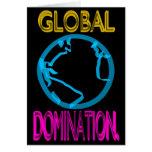Dominación global tarjeta