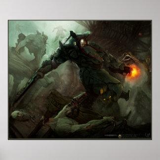 Dominance war entry print