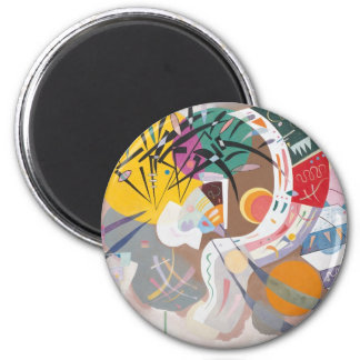 Dominant Curve 2 Inch Round Magnet
