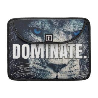 Dominate - Lion Motivational Sleeve For MacBook Pro