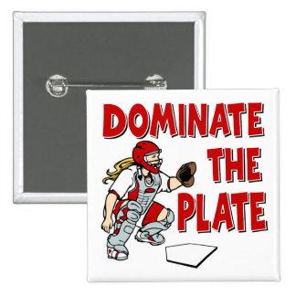 DOMINATE THE PLATE BUTTON
