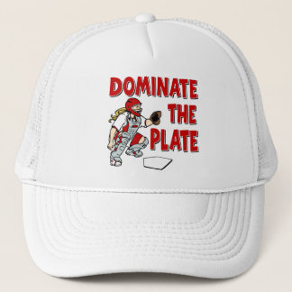 DOMINATE THE PLATE TRUCKER HAT