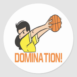 Domination Classic Round Sticker