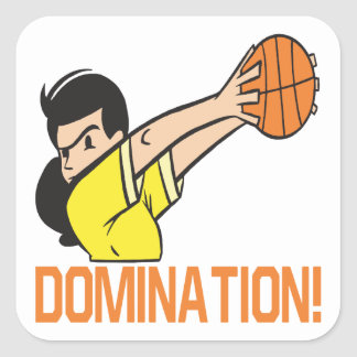 Domination Square Sticker