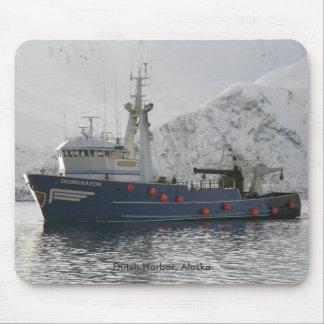 Dominator, Fishing Trawler in Dutch Harbor, AK Mouse Pad