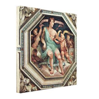 Domingo di Pace Beccafumi - alegoría de la concord Impresion En Lona