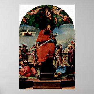 Domingo di Pace Beccafumi - Altarpiece StPaul Posters